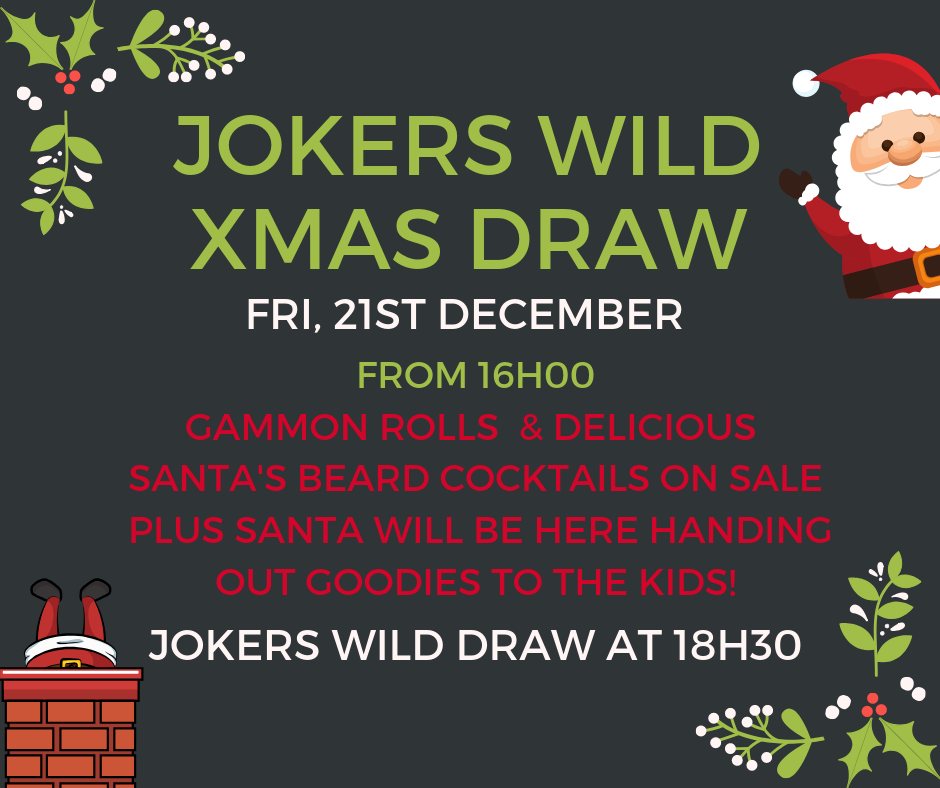 Xmas Jokers Wild Draw