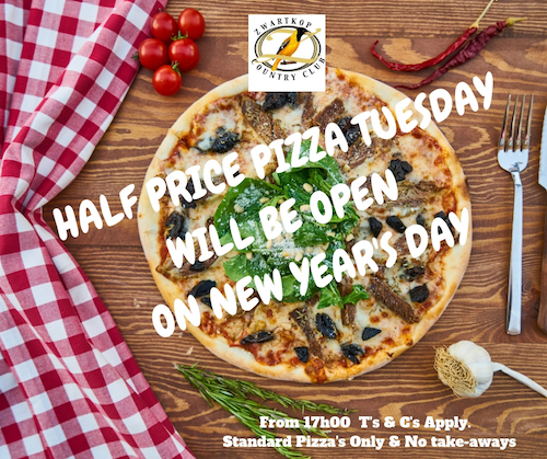 Pizza Night Open on New Years Day