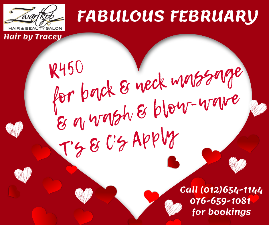 Fabulous February Special in the Salon
