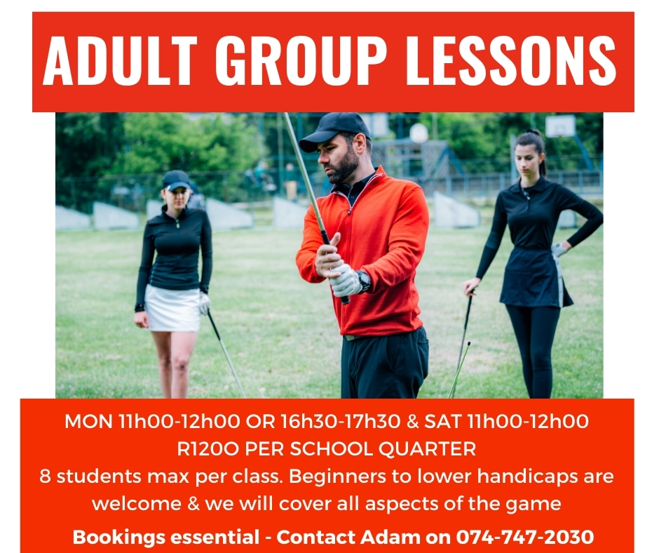 Adult Group Lessons
